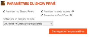 Show Privé Cam4